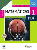 Matemáticas 1 RD Fortaleza Conaliteg