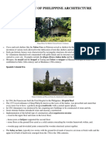 HISTORY OF Architecture of the Philippines.docx