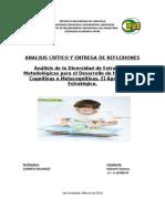Analisis Critico Estrategia Metodologicas-Keiberth