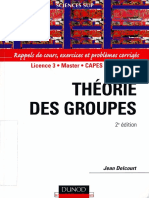 Jean Delcourt-Théorie Des Groupes