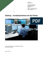 K 2016 Stalking Kontaktaufnahme Polizei