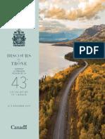 Discours Du Trone 2019