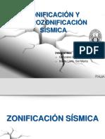 Zonificación Y MICROzonificación Sísmica