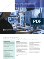 InterSystems IRIS Data Platform-Unified Platform for Powering Real-time Data-Intensive Applications-Whitepaper