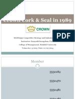 Crown Cork & Seal Company
