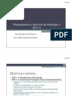 Disciplina PCP II