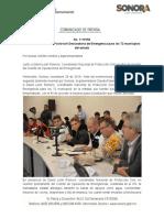 29-11-19 Solicita Gobernadora Pavlovich Declaratoria de Emergencia para los 72 municipios del estado