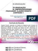 CONTEUDO 1 - EMPREENDEDORISMO