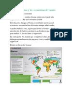 Los Biomas y Los Ecosistemas Del Mundo