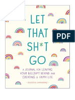 [2018] Let That Sh*t Go by Monica Sweeney | A Journal for Leaving Your Bullsh*t Behind and Creating a Happy Life (Zen as F*ck Journals) | Castle Point Books