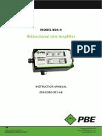 004-0348-001-AB BDA-4 Manual