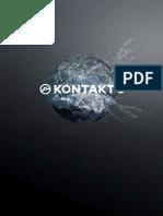 KONTAKT 6.2 Manual English