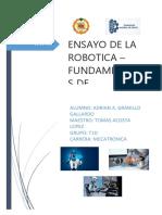 Robotica Ensayo Docx