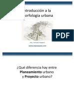 Introducción a La Morfología Urbana