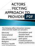 FACTORS AFFECTING APPROACH TO PROVIDERS.pptx