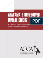 Alabama Counties Inmate Crisis Report