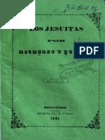Los Jesuitas - Jules M. Michelet y Edgar Quinet