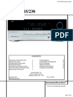 Avr245 Eu Service Manual