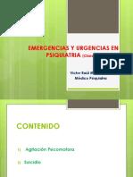 Emergencias y Urgencias en Psiquiatria