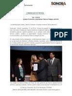 27-11-19 Reconoce Gobernadora Pavlovich a Servidores Públicos Íntegros del Año