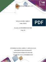 Ejercicios de Sustentación Unidades 1, 2 y 3