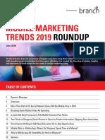 Mobile Marketing Trends Roundup 2019 EMarketer