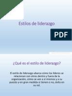 Estilos de Liderazgo-1572867355