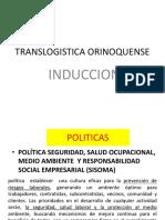 Capacitacion Re Induccion Translogistica