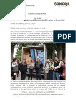 04-12-19 Anuncia Gobernadora que se emitió Declaratoria de Emergencia en 55 municipios