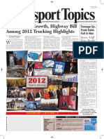 Transport Topics 2012 Year in Review Front Page