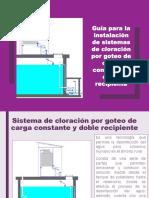Guía Para La Instalación de Los Sistemas de Cloración Por Goteo