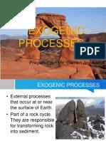 Exogenic Processes
