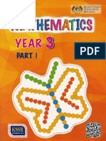 Mathematics Year 3 Part 1 DLP Text KSSR Semakan