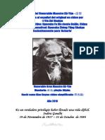 Libro Con Poemas Del Maestro Xu Yun