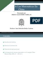 Las Matemáticas en China