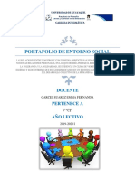 PORTAFOLIO ENTORNO