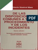 De las disposiciones comunes a todo prodec. y de los incidenters, Stoehrel.pdf