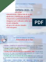 Biofisica Naturaleza de La Luz 2019 II