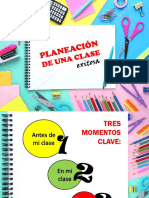 Planeación de Una Clase Exitosa