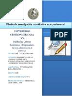 Diseño de propuesta - Agenda 6