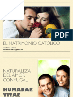 El matrimonio en la doctrina católica