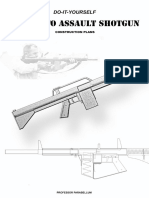 DIY Full Auto Assault Shotgun Construction Plans