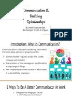 communication building relationships