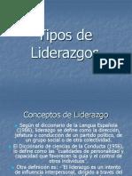 Presentacion de Lliderazgo 2009
