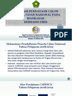 3. Evaluasi Pendataan Capesun Emis 2019-Ntb