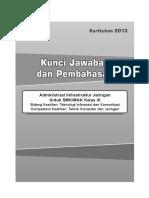Kunci C3 Administrasi Infrastruktur Jaringan XI