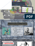 procesos conitivos volitivos