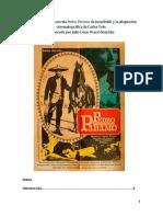 Comparativa de La Novela Pedro Páramo Con La Adaptación Cinematográfica de Carlos Velo I