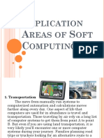 Application Areas of Soft Computing