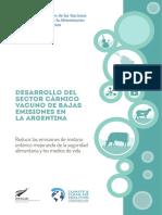 Desarrollo Del Sector Cárnico Vacuno de Bajas Emisiones en La Argentina
